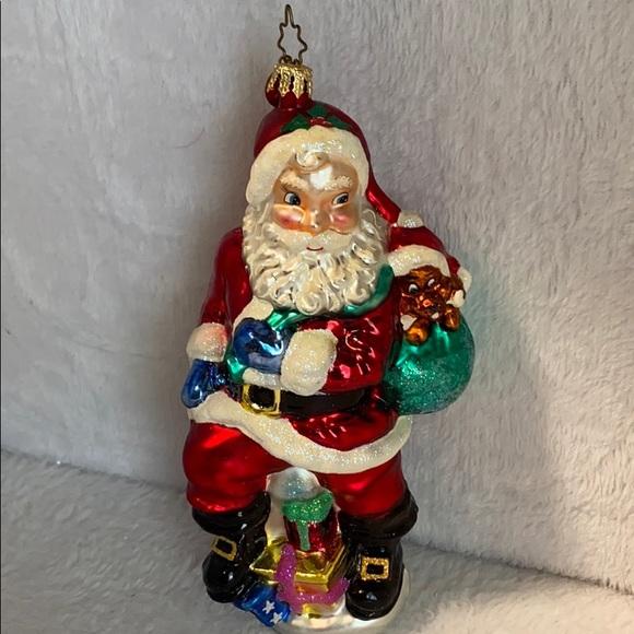 Fitz and Floyd Vintage Santa Clause Ornament